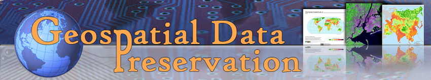 header image: Geospatial Data Preservation